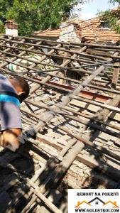 Демонтаж на покрив София