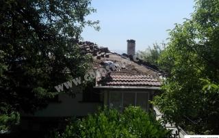 Поцхистване на покрив София