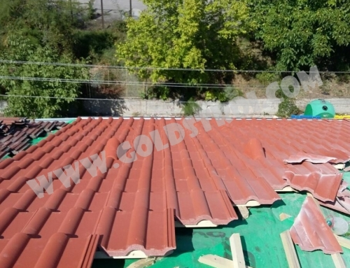 Има ли значение дебелината на металната плоча за покрива?