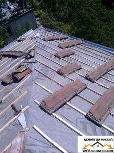 Направата на нова покривна скара София