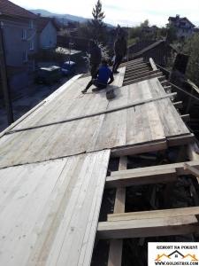 Нова покривна Конструкция София
