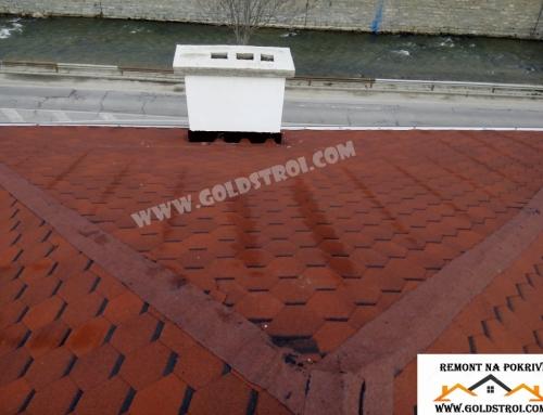 Как биват повредени покривите от градушка?