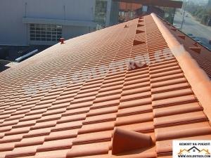 Частичен ремонт на покрив Хасково