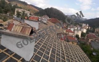 Направата на Двойна скара по покрив Велико търново