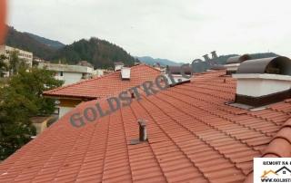 Частичен ремонт на покрив Велико Търново