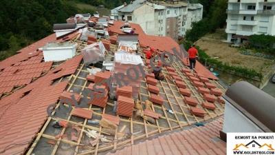Изграждане на нов Покрив Велико Търново