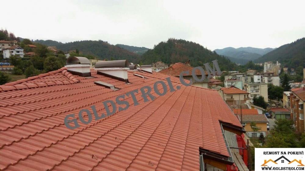 ремонт на покрив Велико Търново