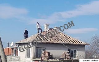 Почистване на покрив от кал Ямбол