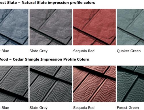 Цветове за Метални покривни : как да изберете най-добрия цвят за нов метален покрив ?