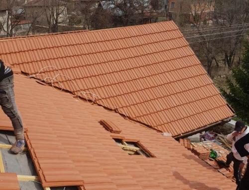 Ремонт на покрива на старата къща