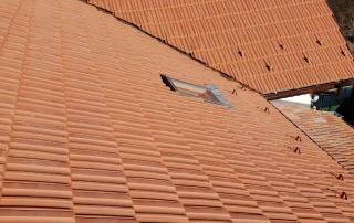 двускатен покрив