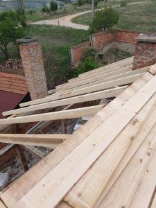 Ремонт на покрив гр. Трявна с.Неиковци 1