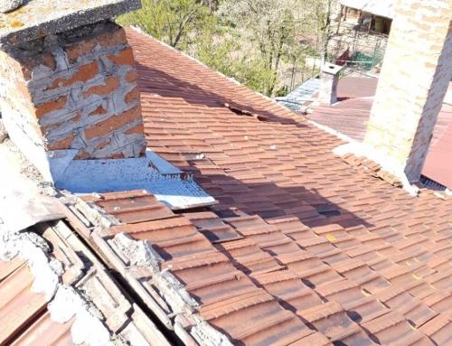 Спешен авариен ремонт на покрива