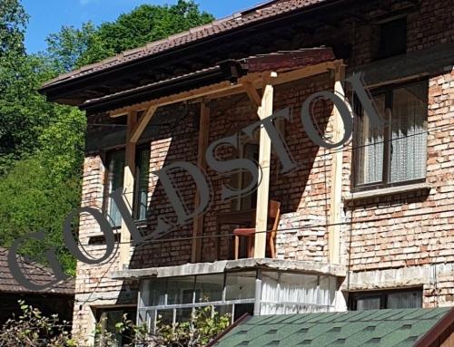 Ремонт на покрива на балкона