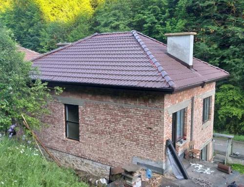 Четирискатен покрив – дизайн и устройство