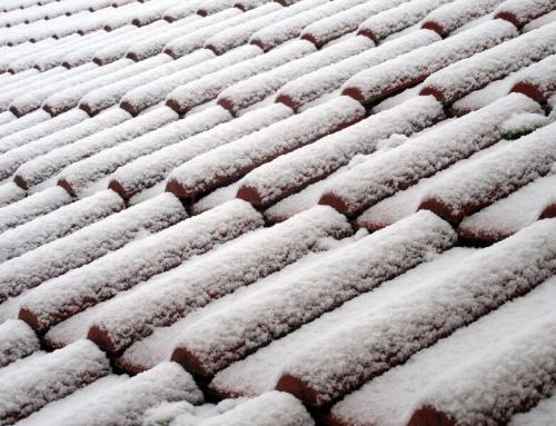 Знаете ли, че през зимата можете да монтирате покрив?