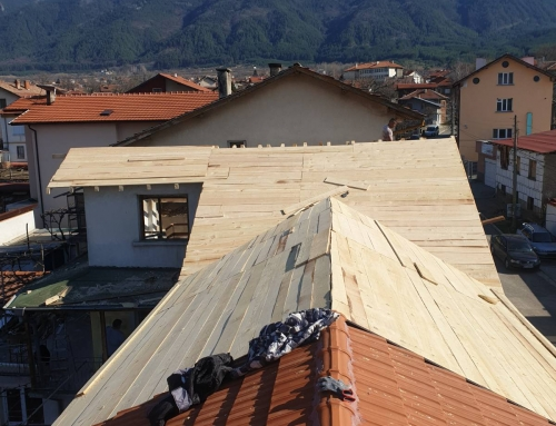 Как да направим покрив на пристройката към къщата