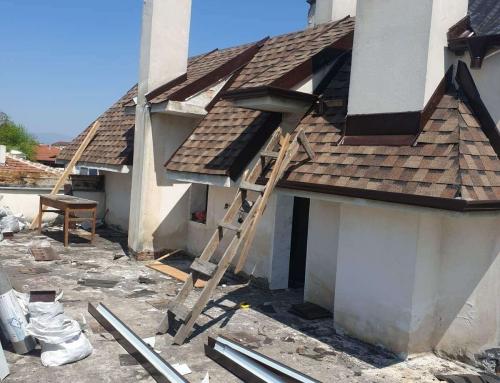 Какво определя височината на покрива