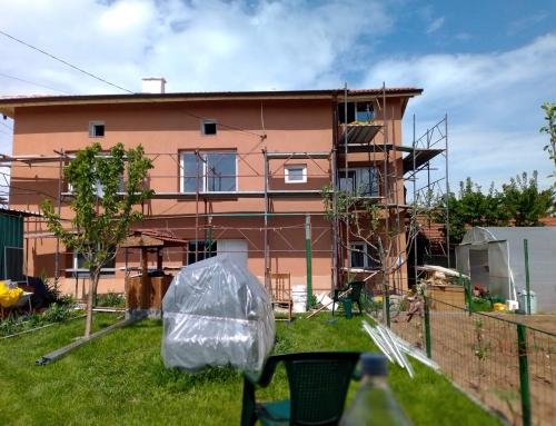 Изграждане на нов покрив кв.Челопечене
