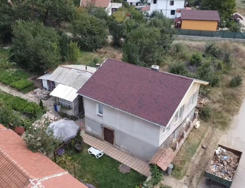 Изграждане на нов покрив в гр.Нови Искър
