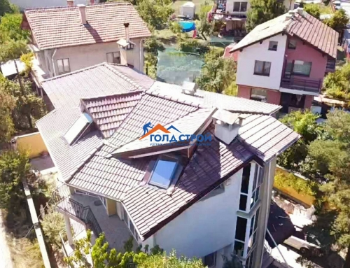 Ремонт на покрив в кв. Горна баня, София